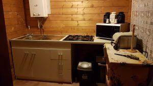 Charmant-keuken van chalet