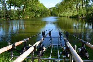 Backyard Lake, prachtig water met woning in Nederland. Nieuw bij Visvakanties.nl
